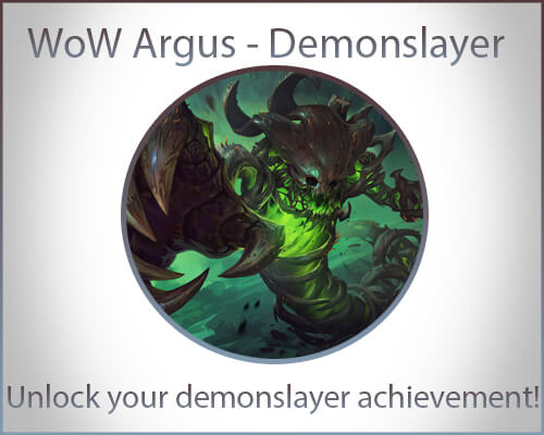 Argus - Demonslayer Achievement
