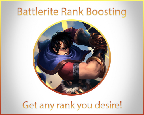 Battlerite Rank Boosting