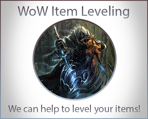 WoW Item Leveling Boost
