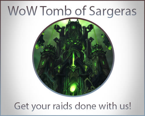 WoW Tomb of Sargeras Boost