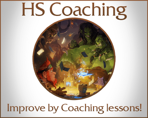 Hearthstone Coaching